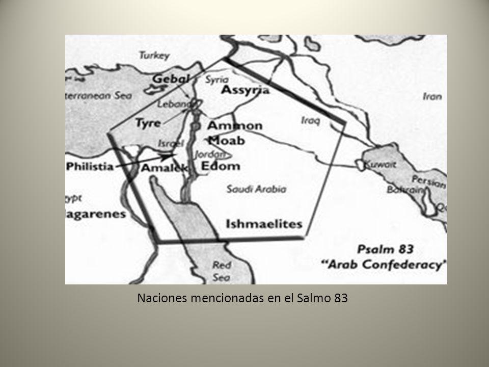 Naciones mencionadas en el Salmo 83