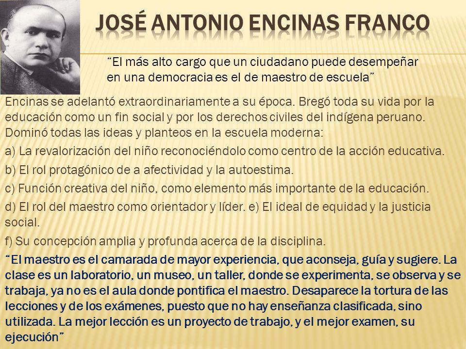 José Antonio Encinas Franco