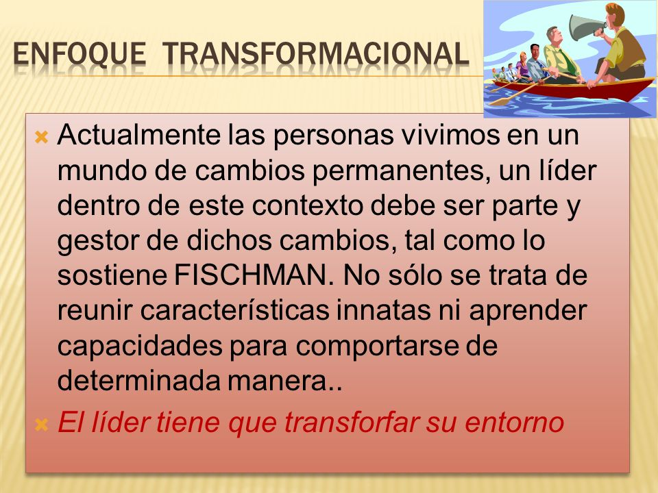 Enfoque transformacional