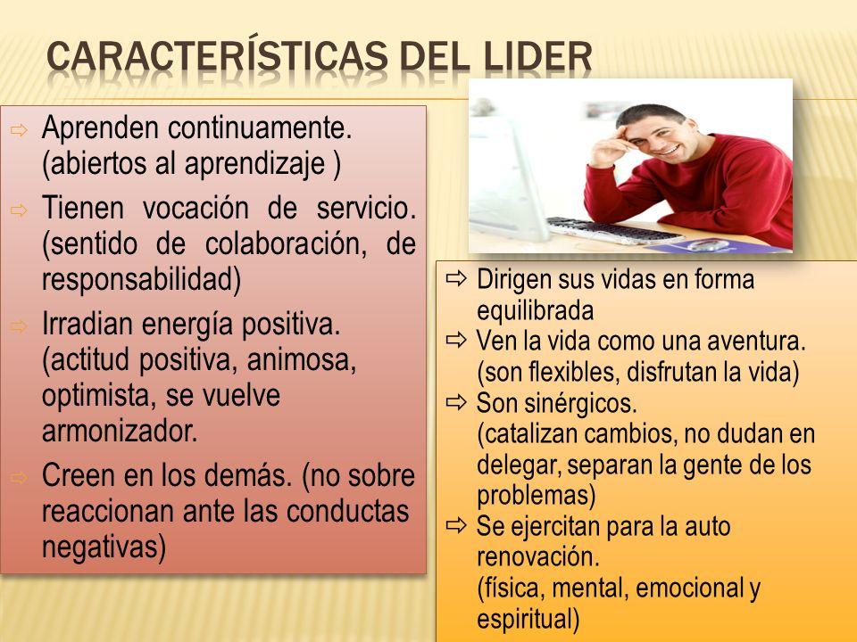 Características del lider