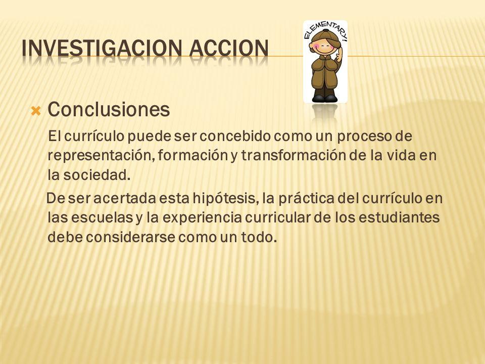 Investigacion accion Conclusiones