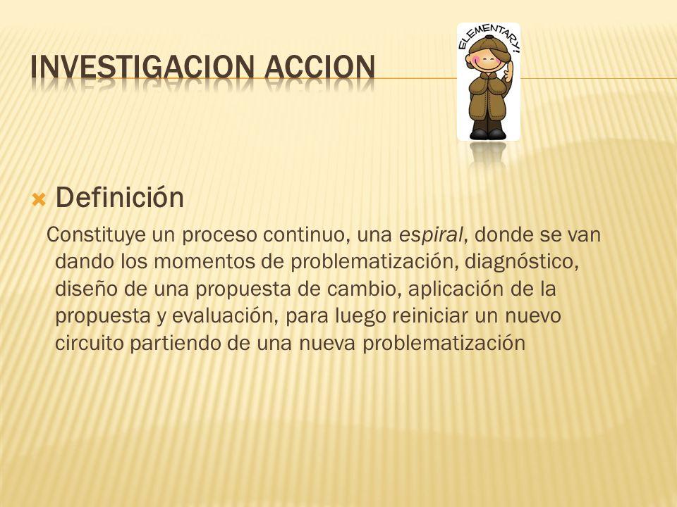 Investigacion accion Definición