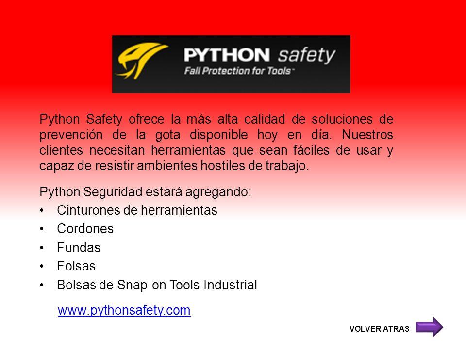 Python Seguridad estará agregando: Cinturones de herramientas Cordones