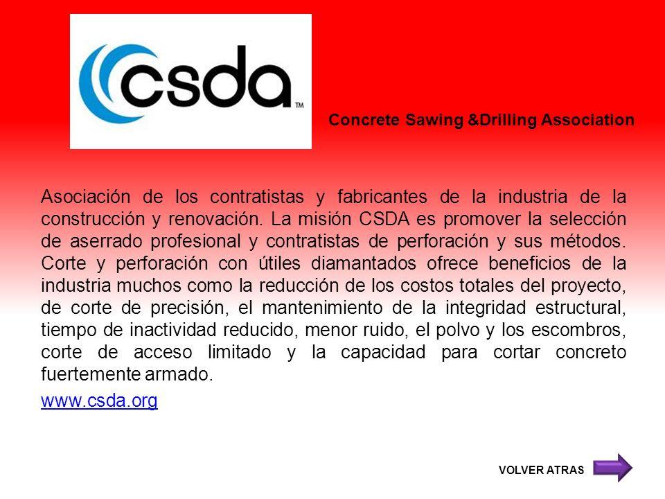 Concrete Sawing &Drilling Association