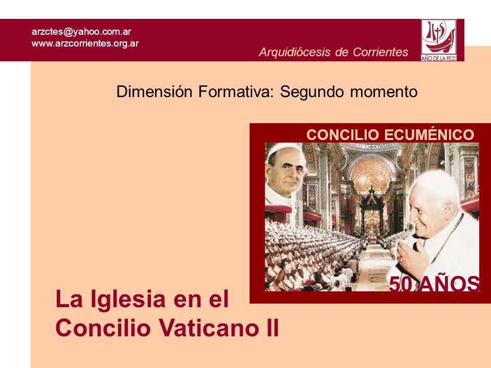 La Iglesia en el Concilio Vaticano II