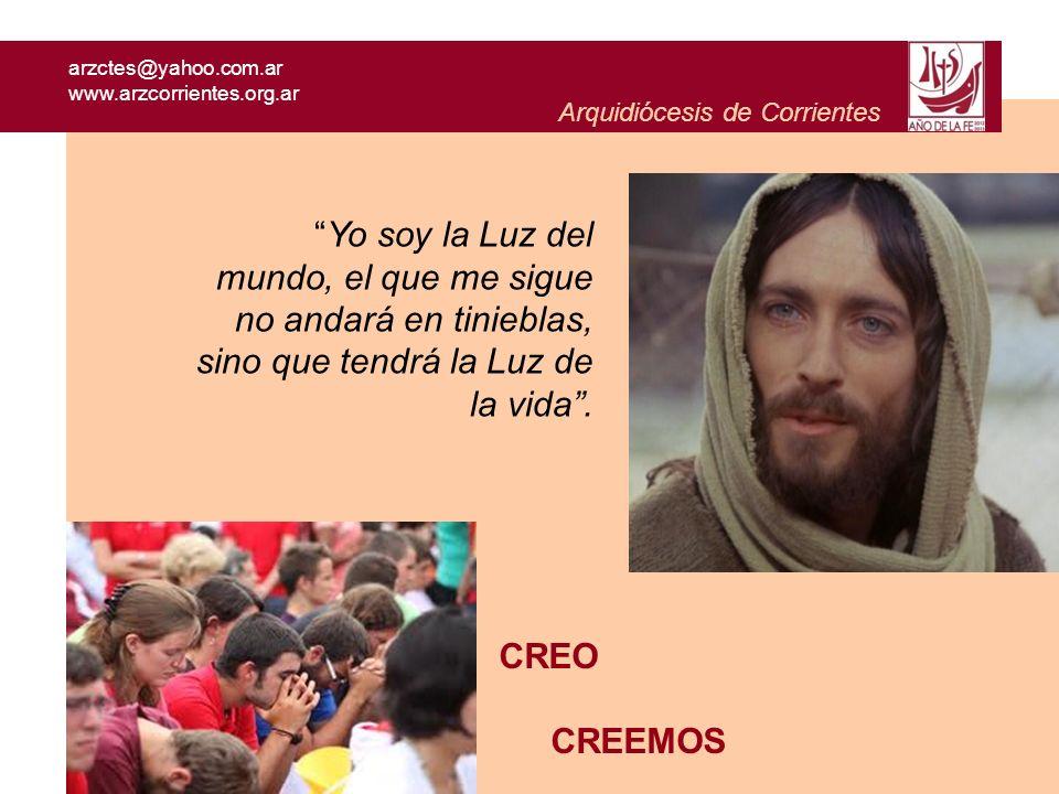 arzctes@yahoo.com.ar www.arzcorrientes.org.ar. Arquidiócesis de Corrientes.