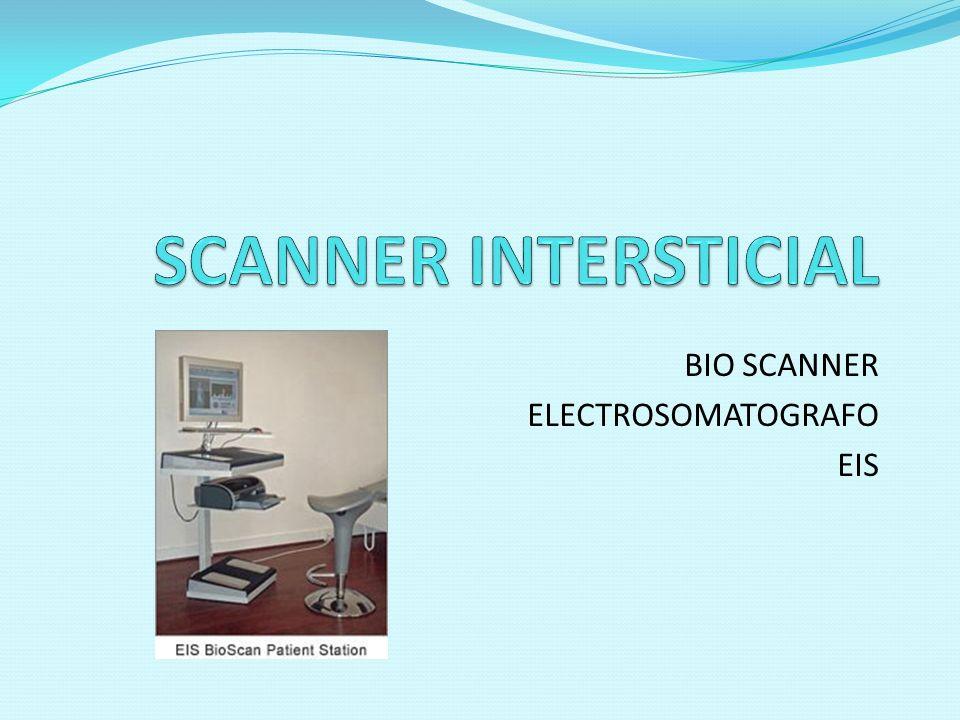 BIO SCANNER ELECTROSOMATOGRAFO EIS