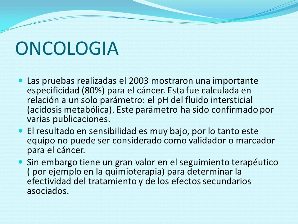 ONCOLOGIA
