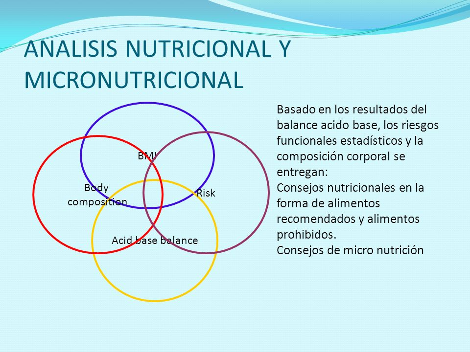 ANALISIS NUTRICIONAL Y MICRONUTRICIONAL