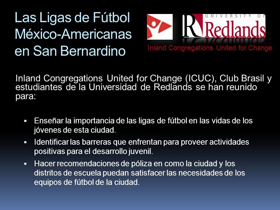Las Ligas de Fútbol México-Americanas en San Bernardino