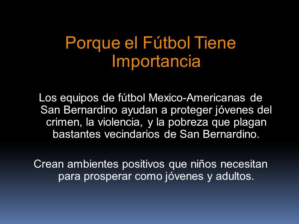 Porque el Fútbol Tiene Importancia