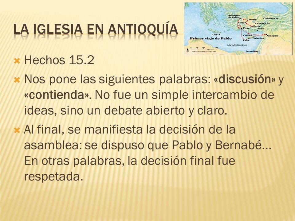 La iglesia en antioquía
