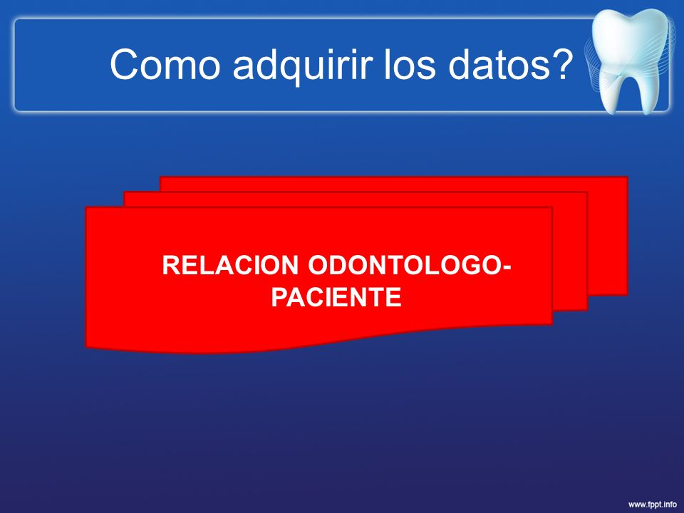 Como adquirir los datos
