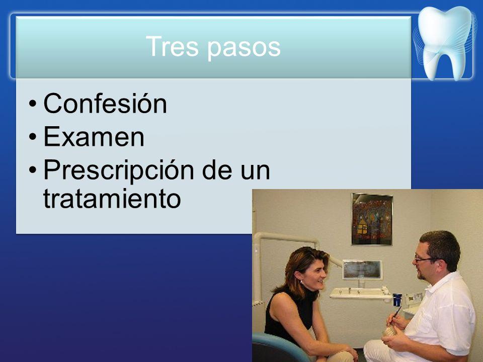 Prescripción de un tratamiento