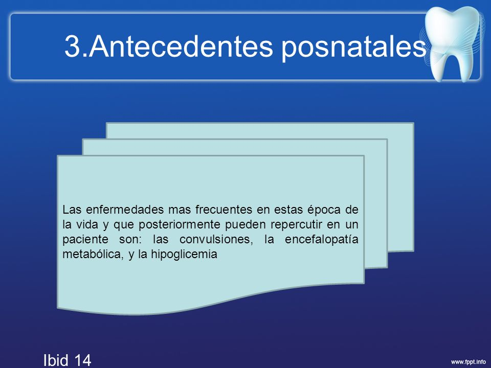 3.Antecedentes posnatales
