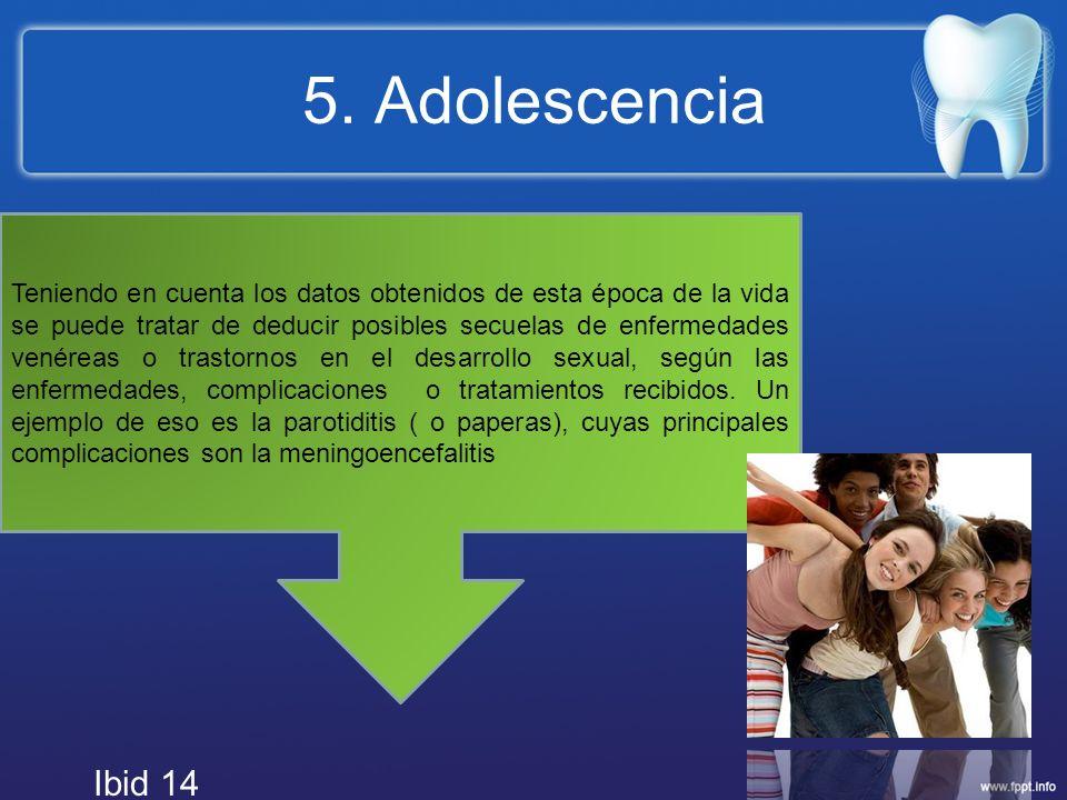 5. Adolescencia