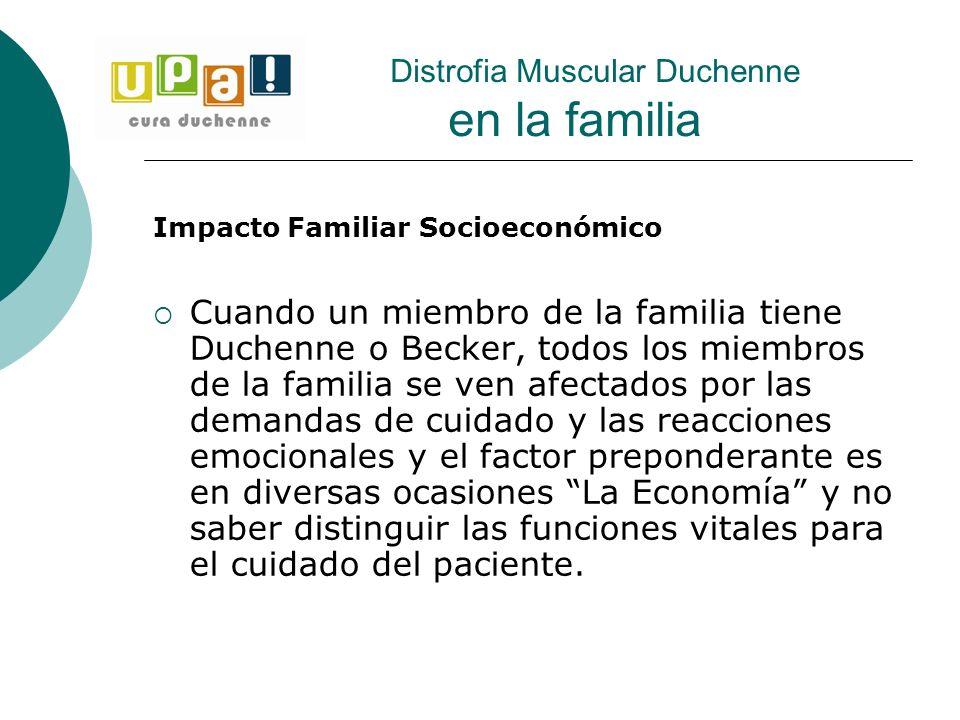 Distrofia Muscular Duchenne en la familia