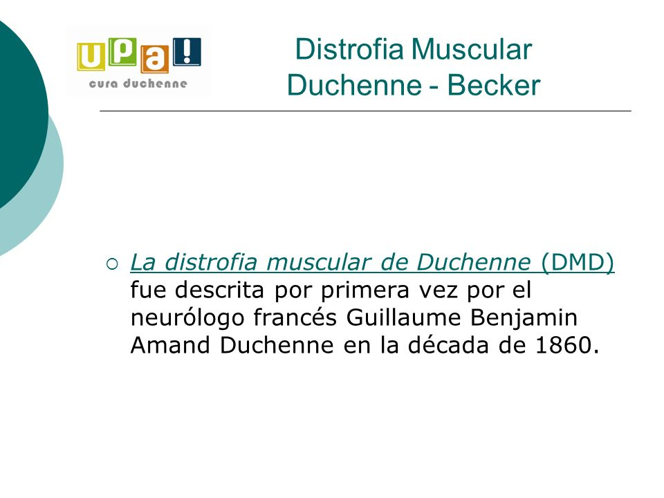 Distrofia Muscular Duchenne - Becker