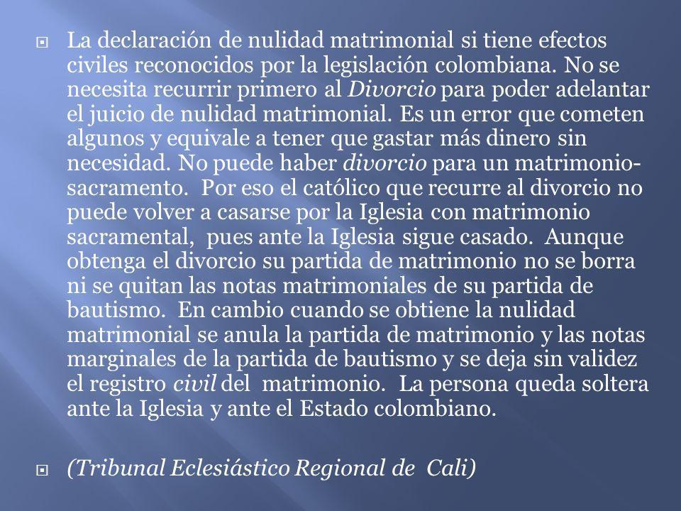Efectos Del Matrimonio Catolico : La nulidad matrimonial ppt video online descargar
