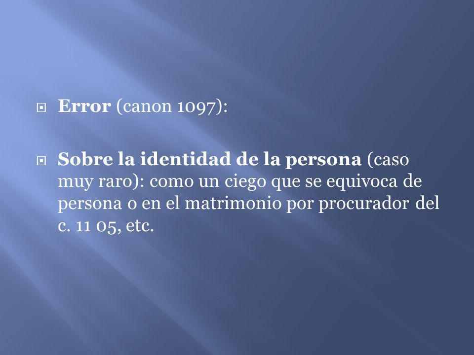 Error (canon 1097):