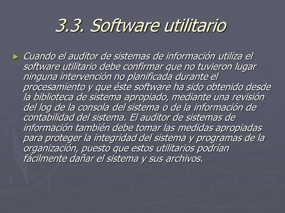 3.3. Software utilitario
