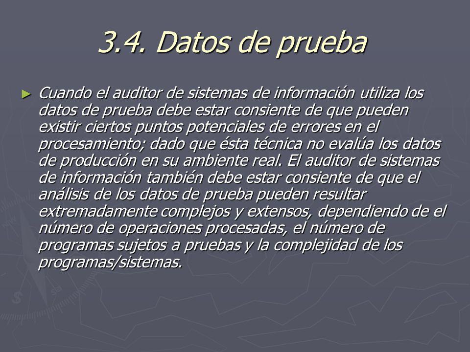 3.4. Datos de prueba
