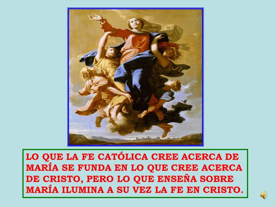 LO QUE LA FE CATÓLICA CREE ACERCA DE