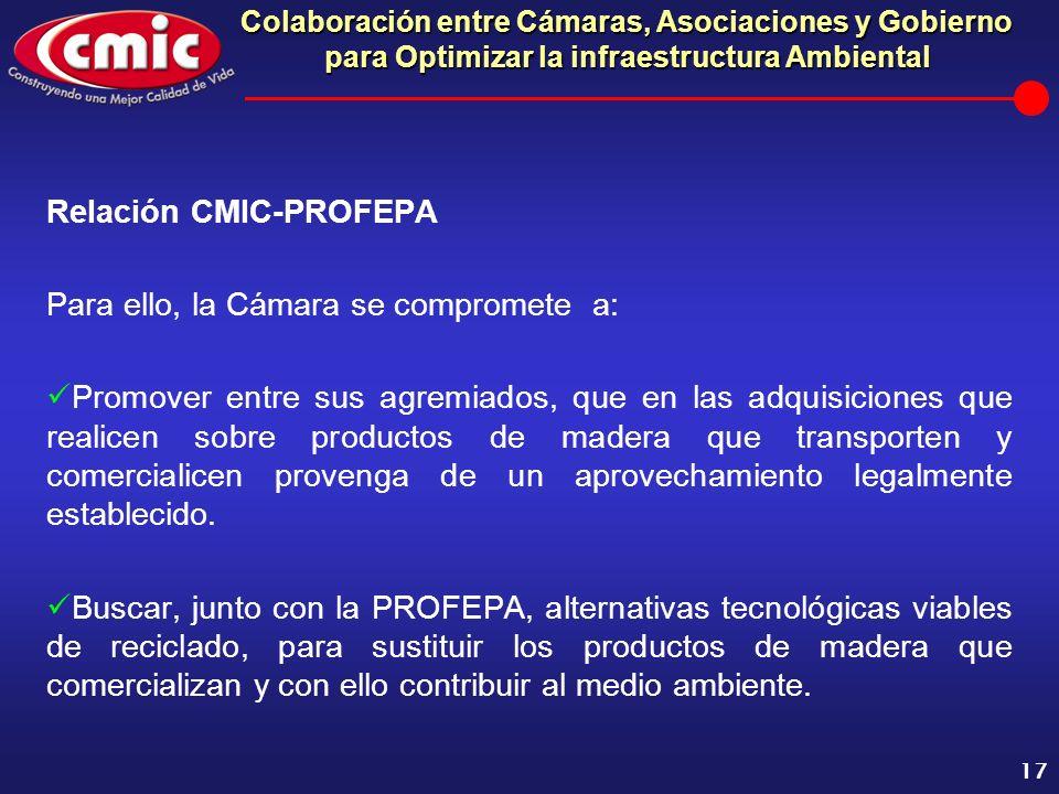 Relación CMIC-PROFEPA