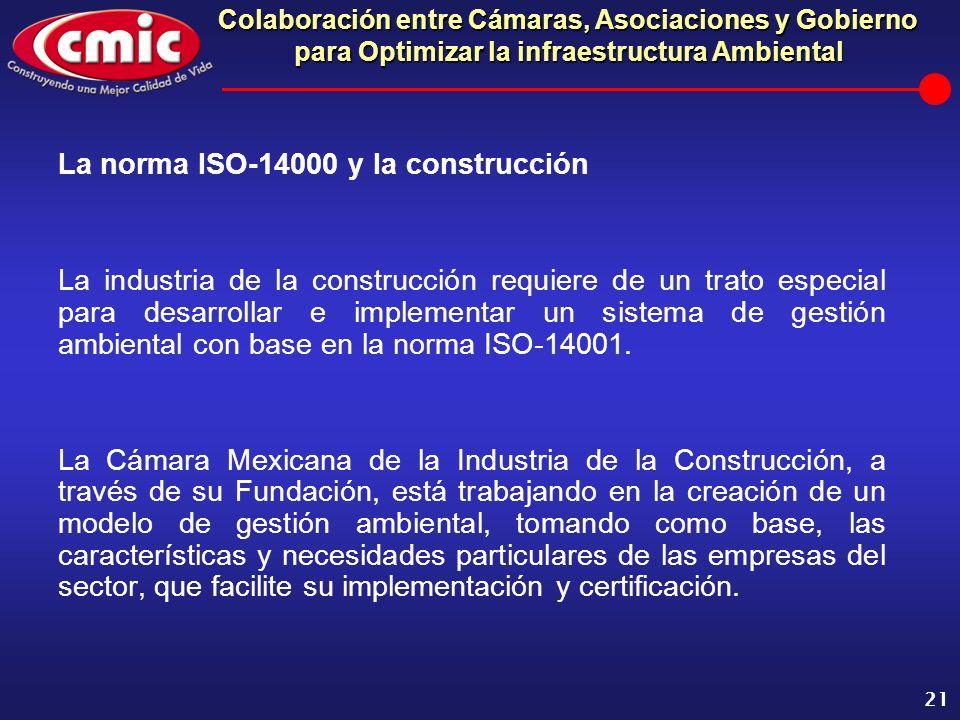 La norma ISO-14000 y la construcción