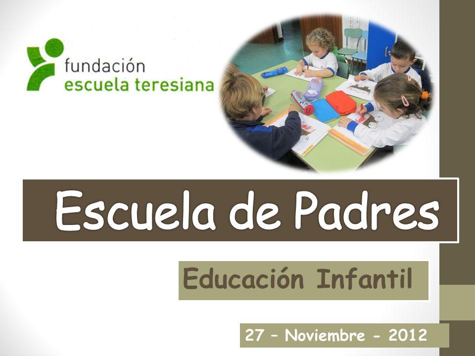 Escuela de Padres Educación Infantil 27 – Noviembre - 2012