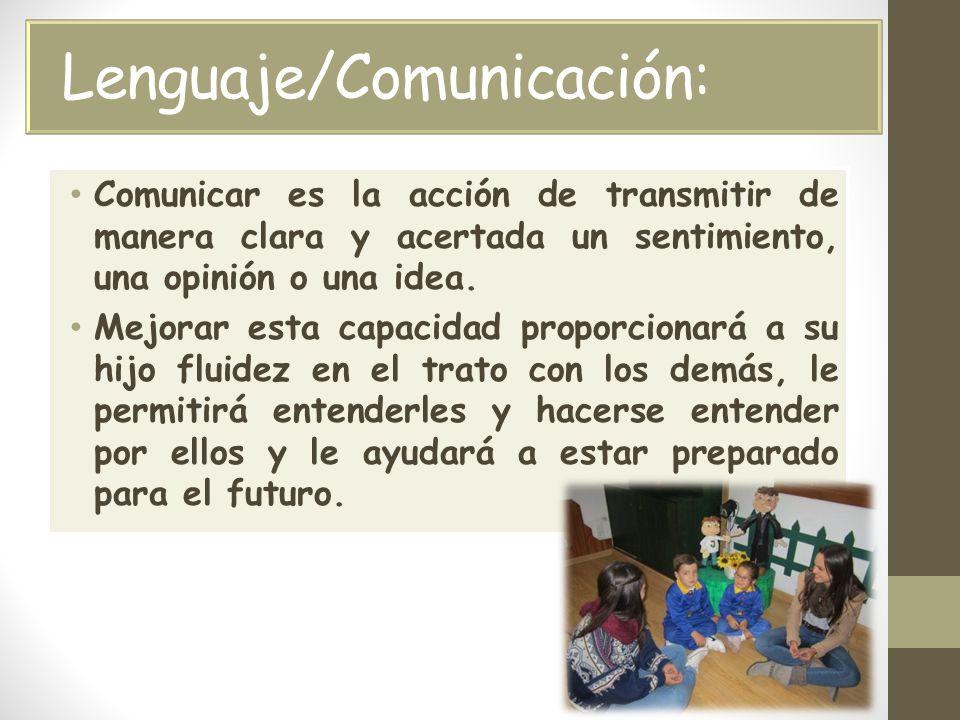 Lenguaje/Comunicación:
