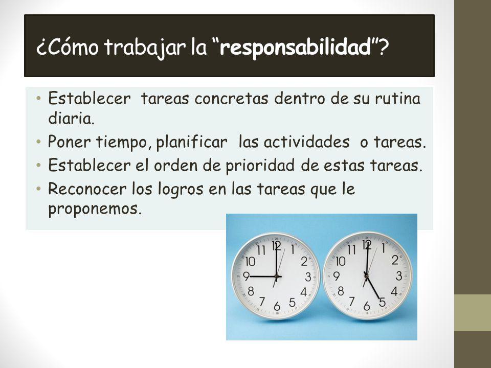 ¿Cómo trabajar la responsabilidad