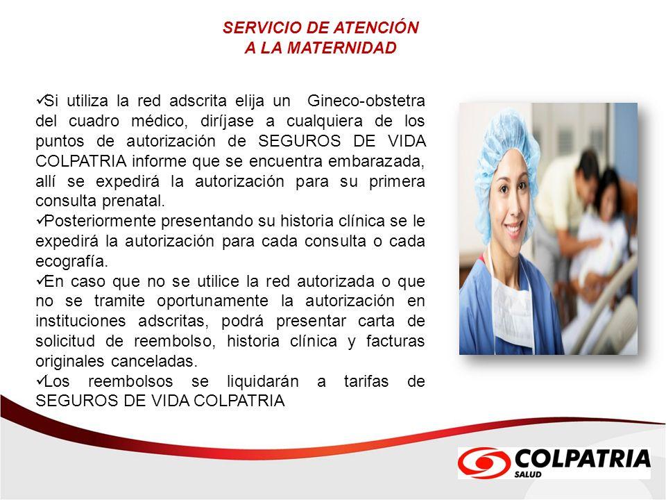 SERVICIO DE ATENCIÓN A LA MATERNIDAD.