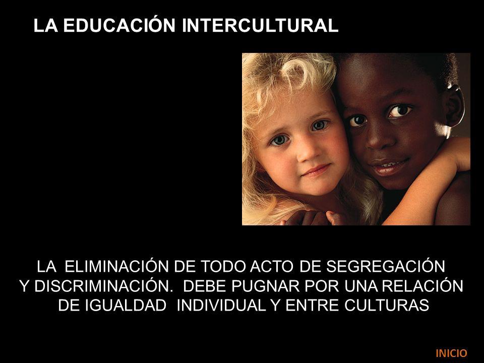 LA EDUCACIÓN INTERCULTURAL