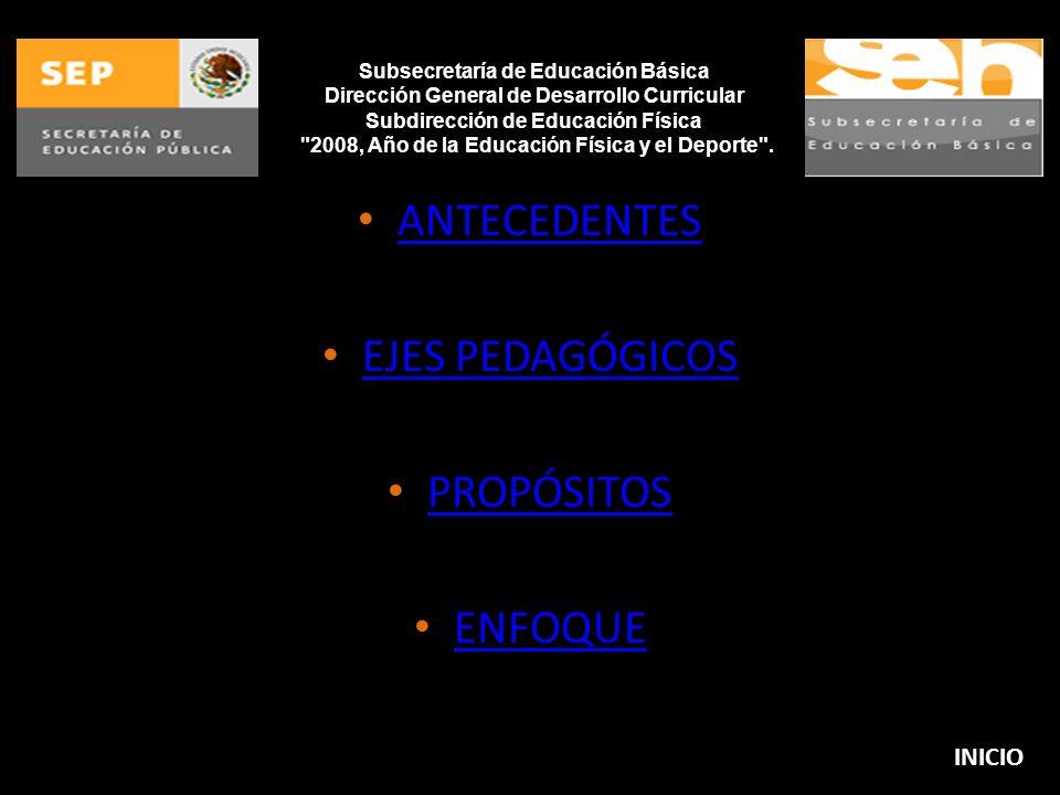 2008, Año de la Educación Física y el Deporte .