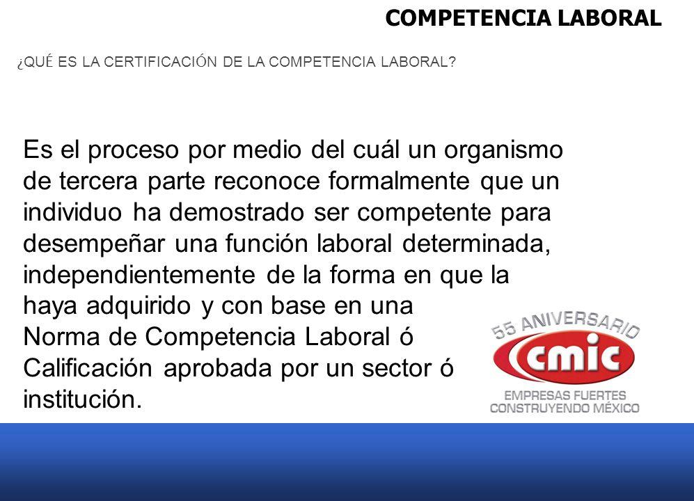 Norma de Competencia Laboral ó