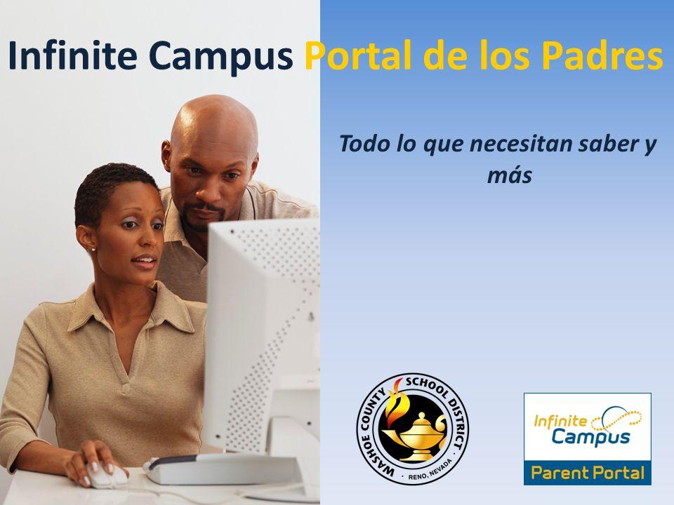 Infinite Campus Portal de los Padres