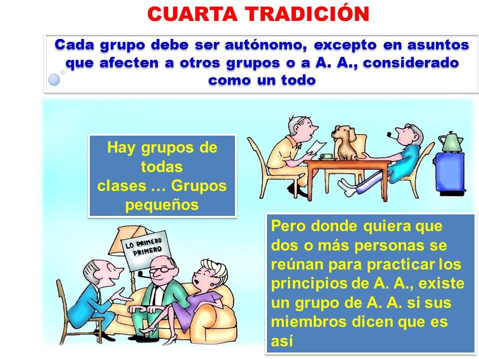 clases … Grupos pequeños