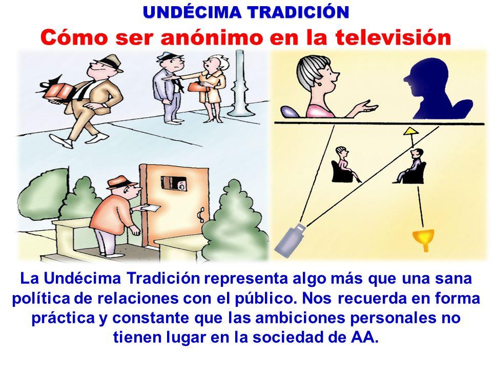 Cómo ser anónimo en la televisión