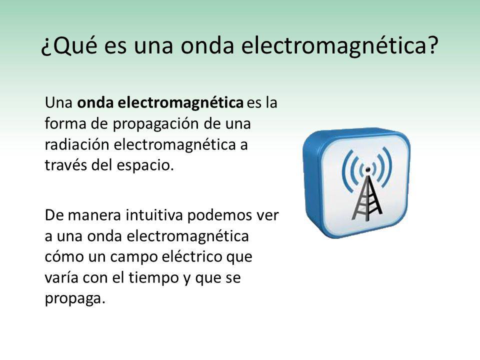 ¿Qué es una onda electromagnética