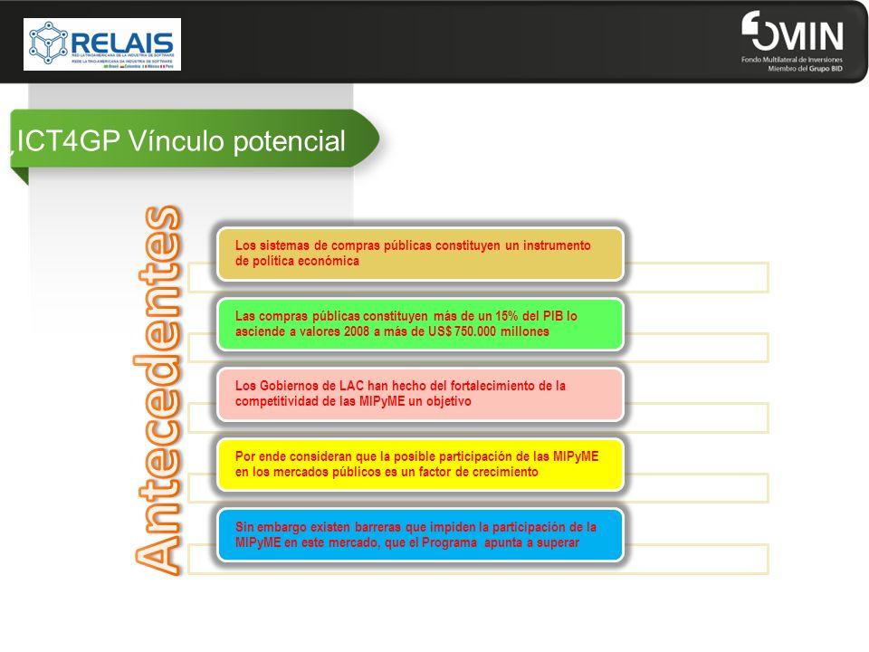 ¿ICT4GP Vínculo potencial