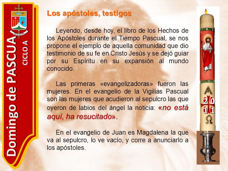 Domingo de PASCUA 2 1 Los apóstoles, testigos CICLO A