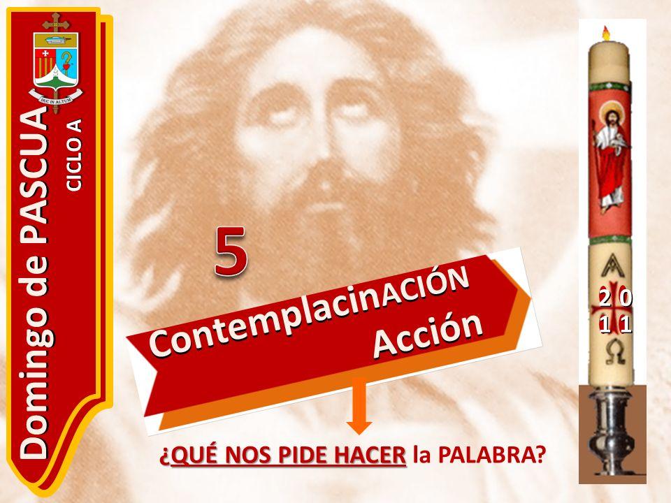 5 Domingo de PASCUA ContemplacinACIÓN Acción 2 1