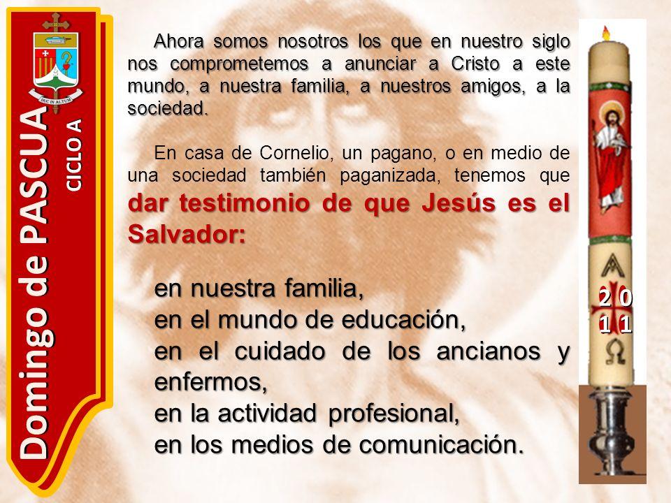 Domingo de PASCUA en nuestra familia, en el mundo de educación,