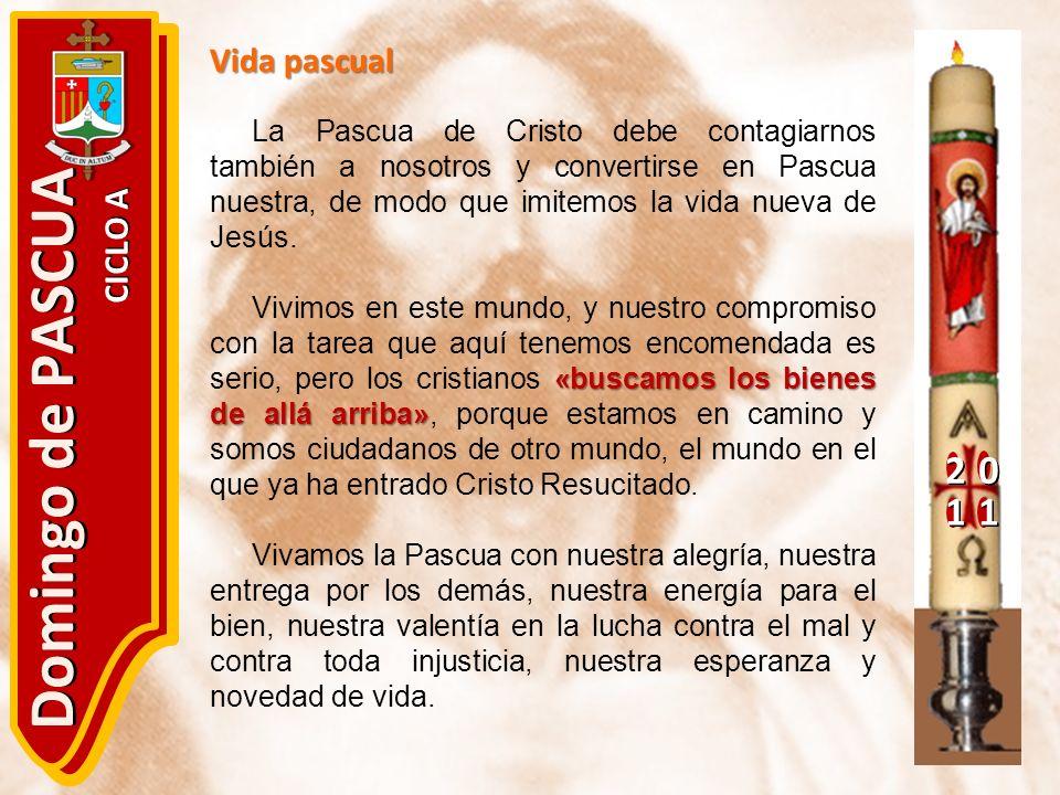 Domingo de PASCUA 2 1 Vida pascual CICLO A