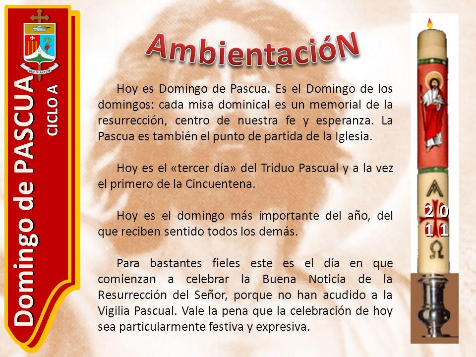 AmbientacióN Domingo de PASCUA 2 1 CICLO A