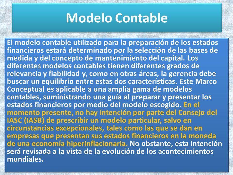 Modelo Contable