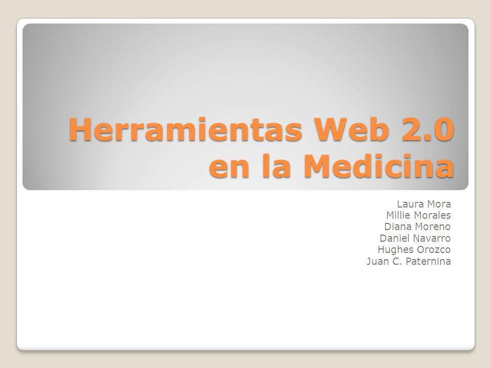 Herramientas Web 2.0 en la Medicina