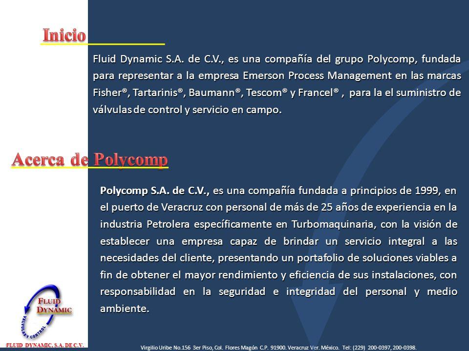 Inicio Acerca de Polycomp