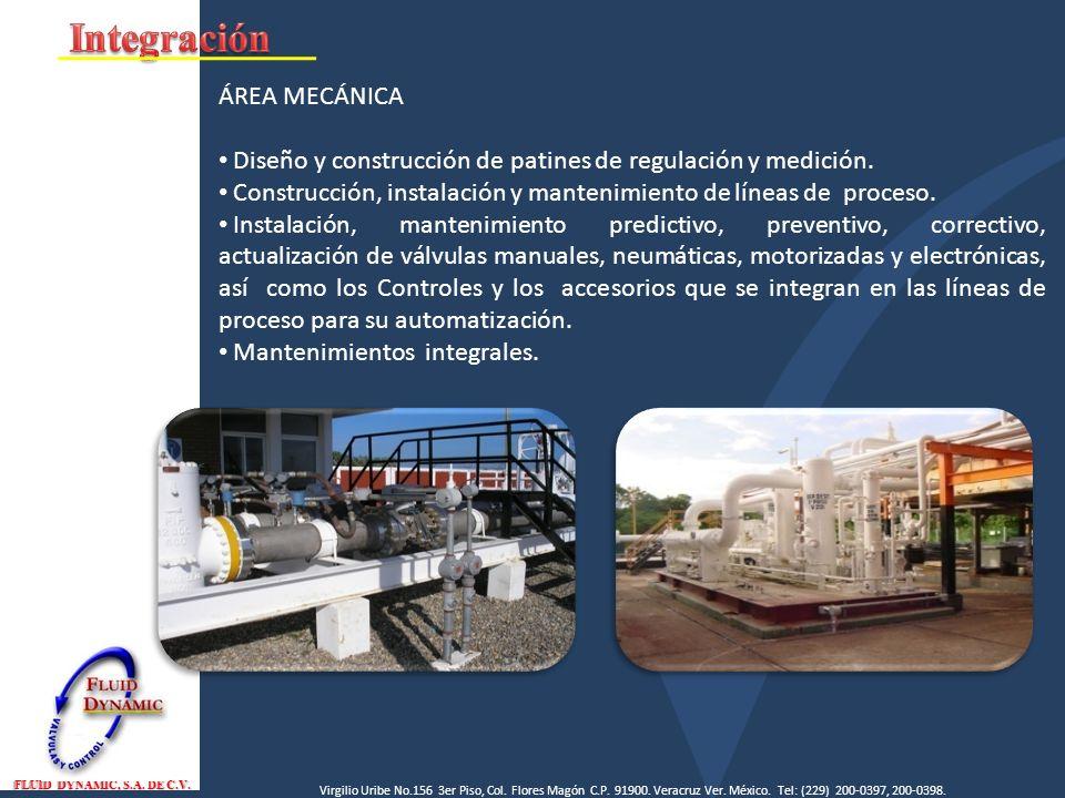 Integración ÁREA MECÁNICA